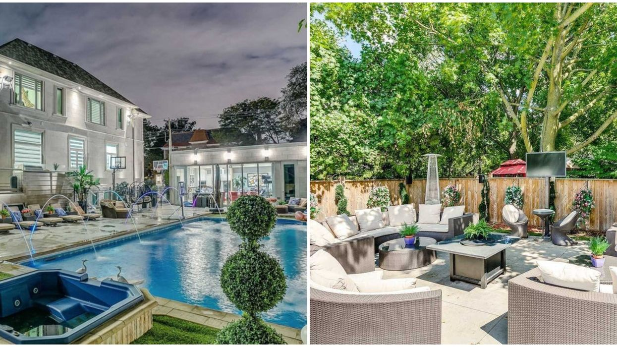 Toronto Mansion For Sale Has An Outdoor Bar And Lounge That Will Make You Swoon