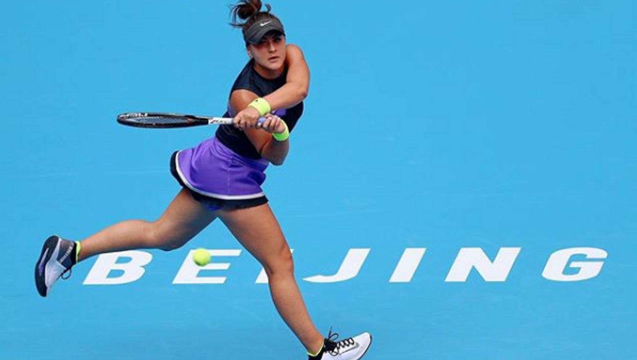 Bianca Andreescu Won Her First Match In The China Open & She's On A Hot Streak