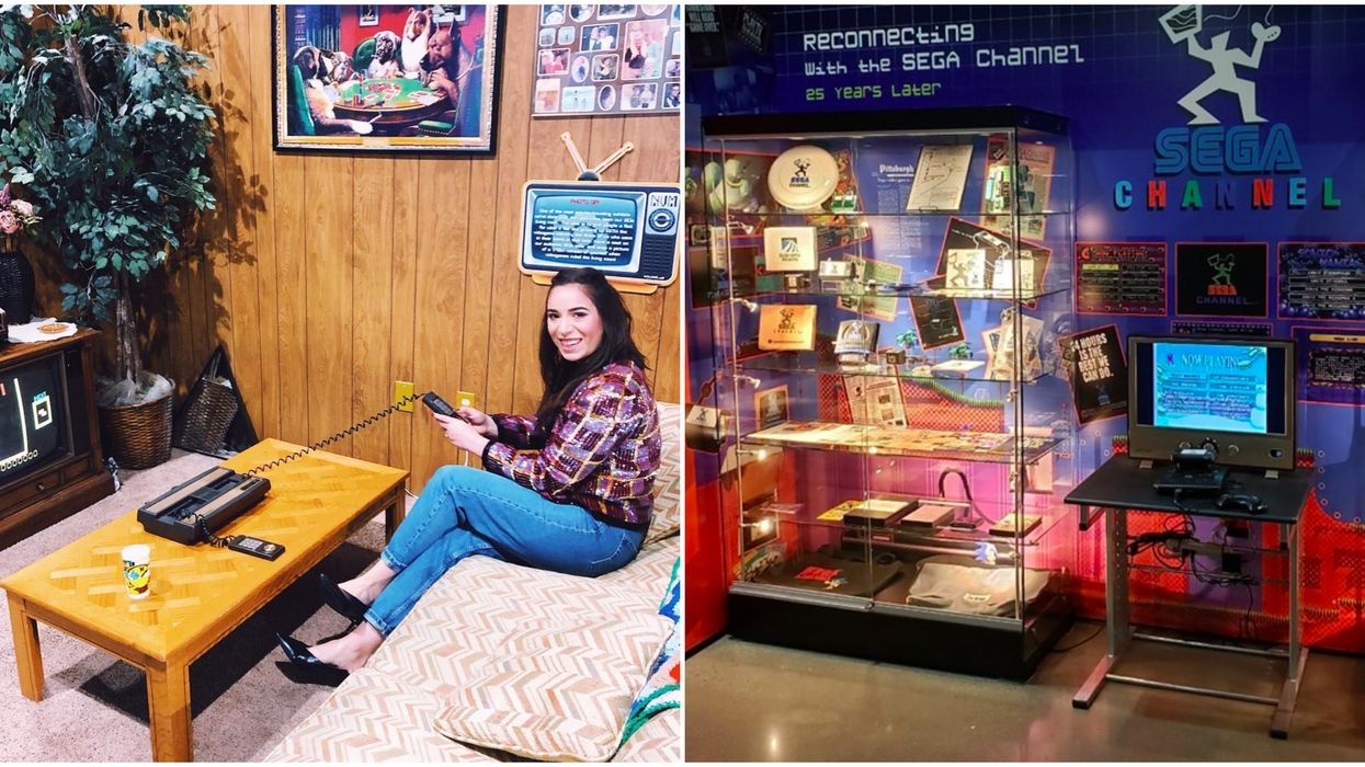 The National Video Game Museum Has A New Sega Exhibit