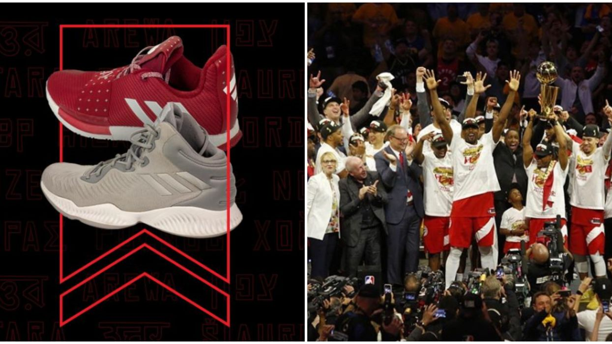 Toronto Raptors Are Auctioning Off Their NBA Championship Shoes