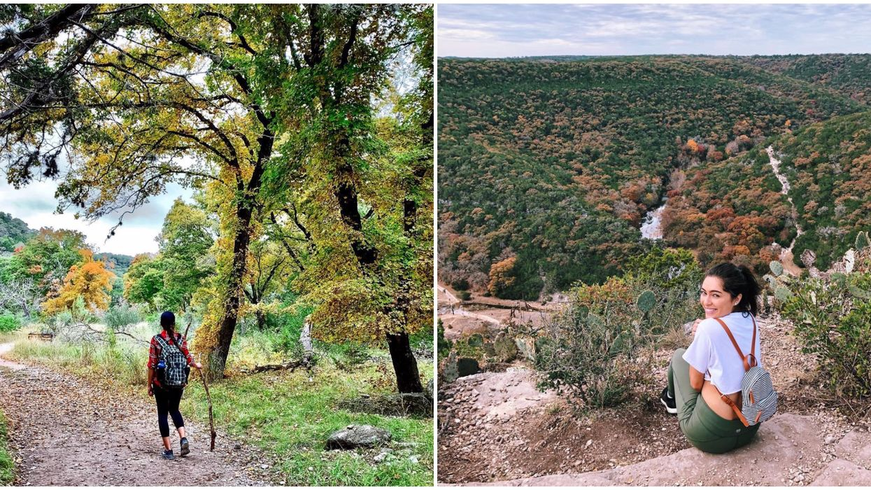 This Texas State Park Has Autumn Trees That Turn Stunning Colors