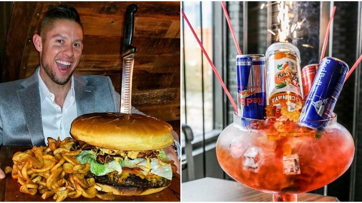 Happiest Hour In Dallas Has Massive Drinks