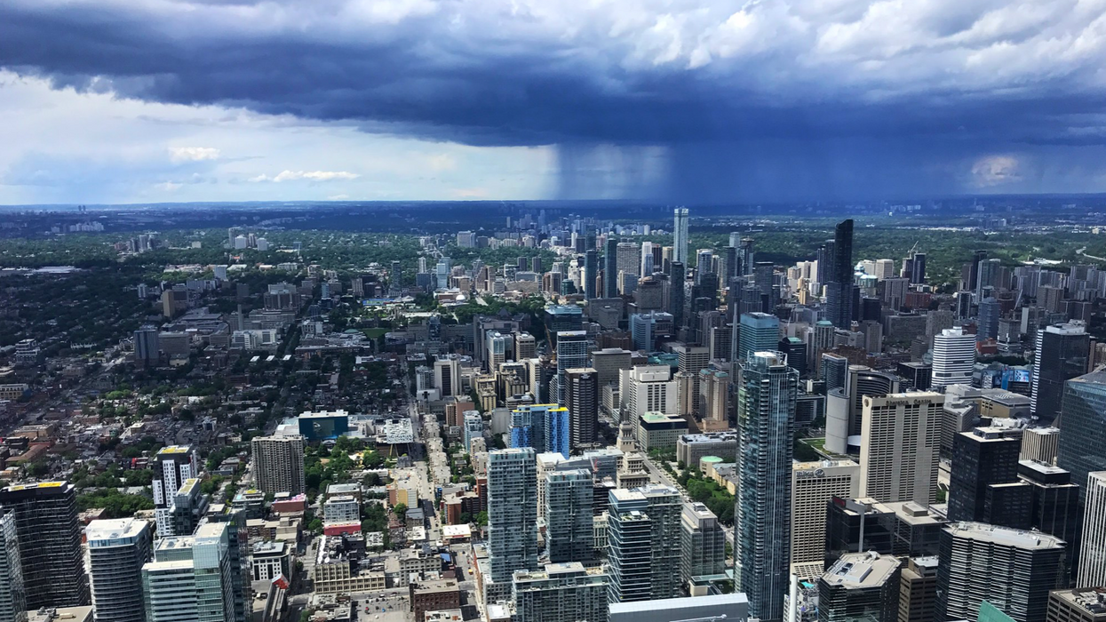 Ontario Thunderstorm Watch Issued Also Warned Of Isolated Tornado Risk