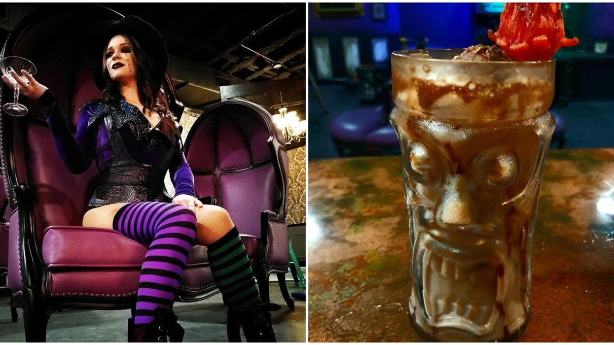 Orlando's New Halloween-Themed Bar Is Opening Their Doors To The Public This Week