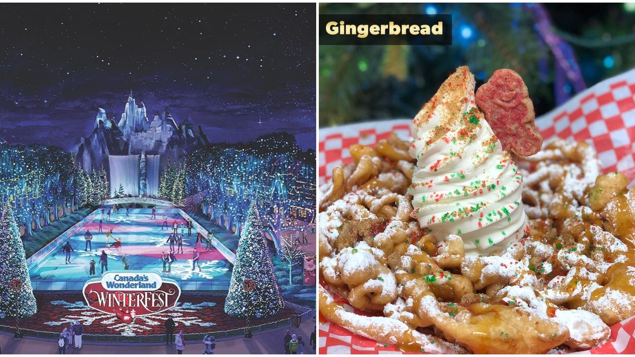 Canada's Wonderland WinterFest Funnel Cake Flavours Were Just Announced And They Sound Magical