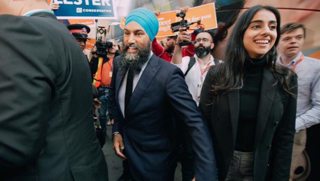 Jagmeet Singh Was Told To Take Off His Turban And He Responded In The Best Way