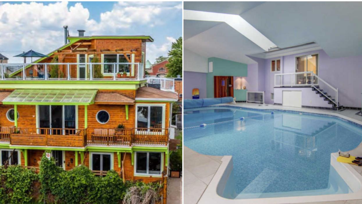 7 des maisons les plus hors du commun sur le marché immobilier au Québec