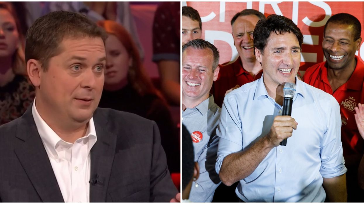 TVA Debate In French Features Scheer Calling Trudeau A Hypocrite For Using 2 Planes