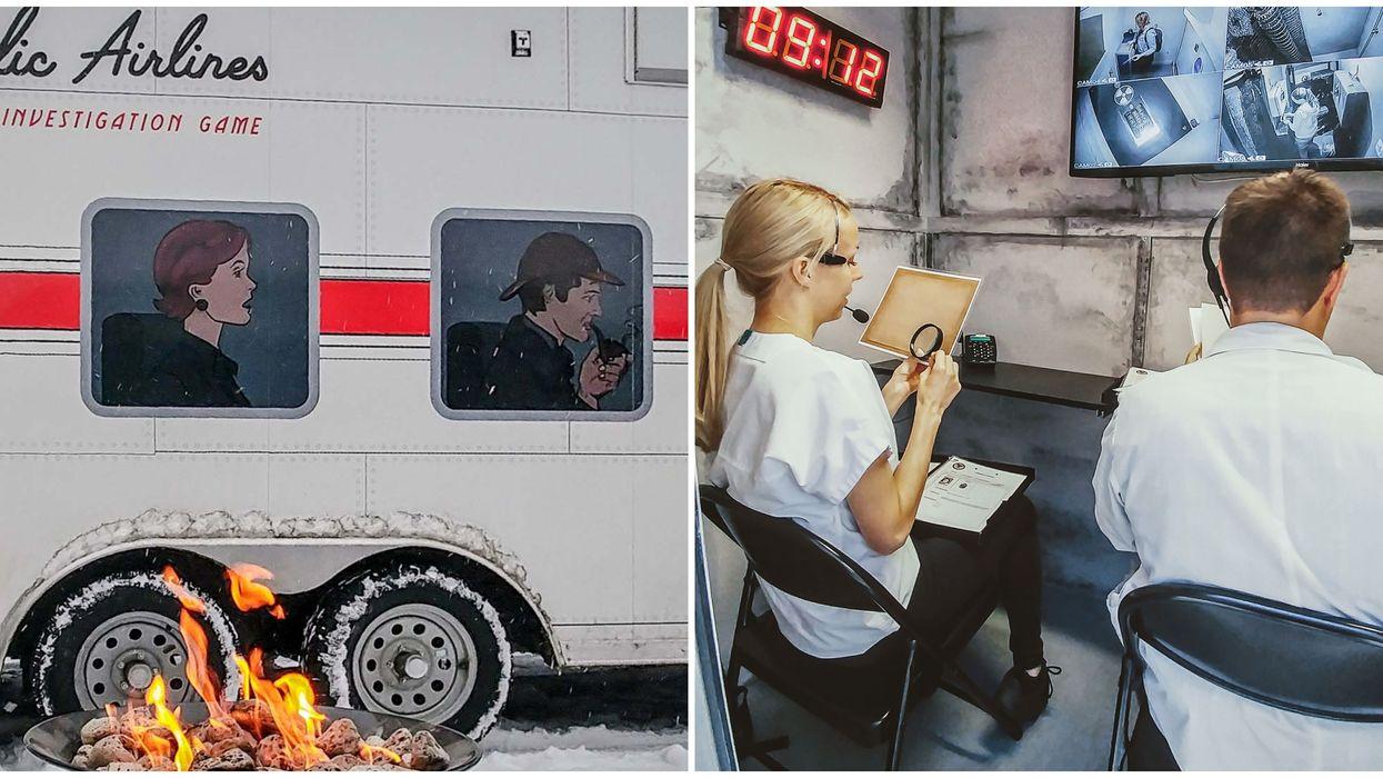 Nouveau concept de jeu d'évasion dans une roulotte Trik Truk débarque au Québec