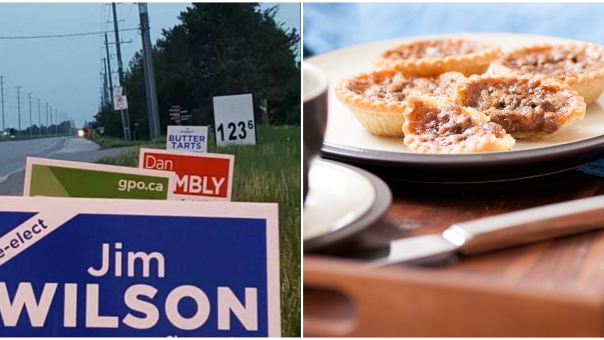 Butter Tarts Aren't Actually An Option In The Federal Election Despite A Viral Photo