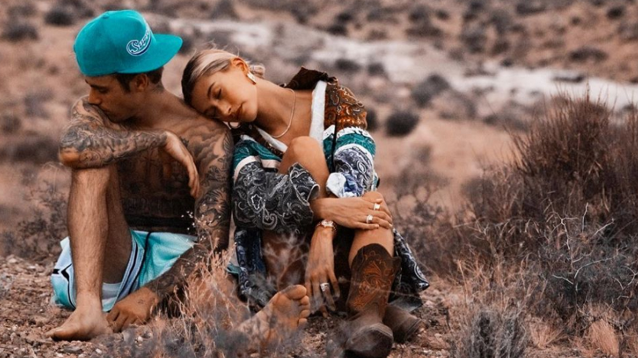 Justin & Hailey Bieber Actually Chose A Canadian Photographer For Their Second Wedding