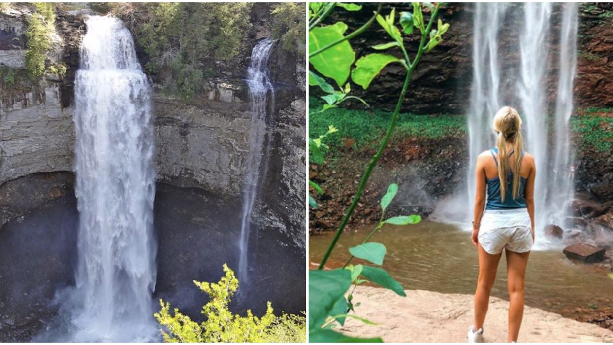 You Can Road Trip Near Georgia To This Massive 256-Foot Waterfall