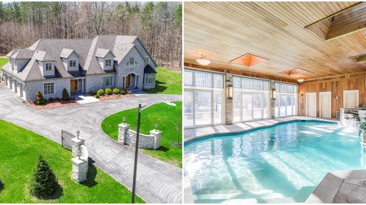 12 GTA Mansions With Indoor Pools So You Never Have To Go Outside This Winter