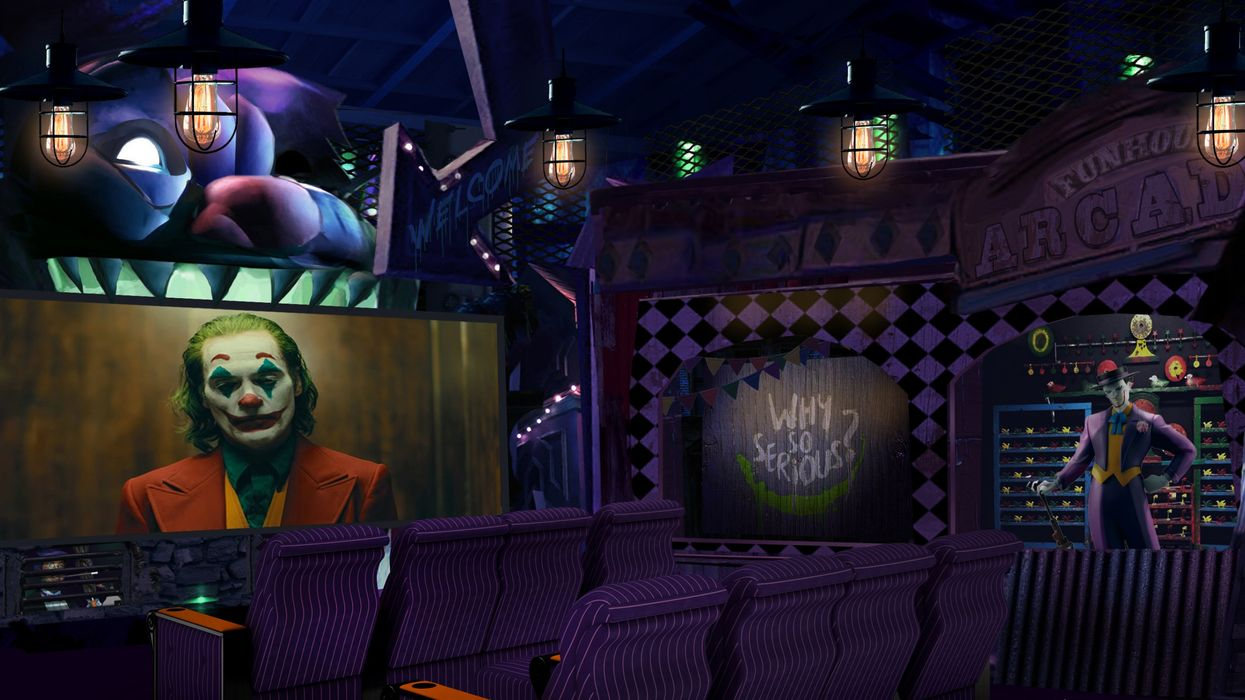 Joker Home Theatre Room Built By BC Company Cost 1.5 Million And It's Insane (Photos)