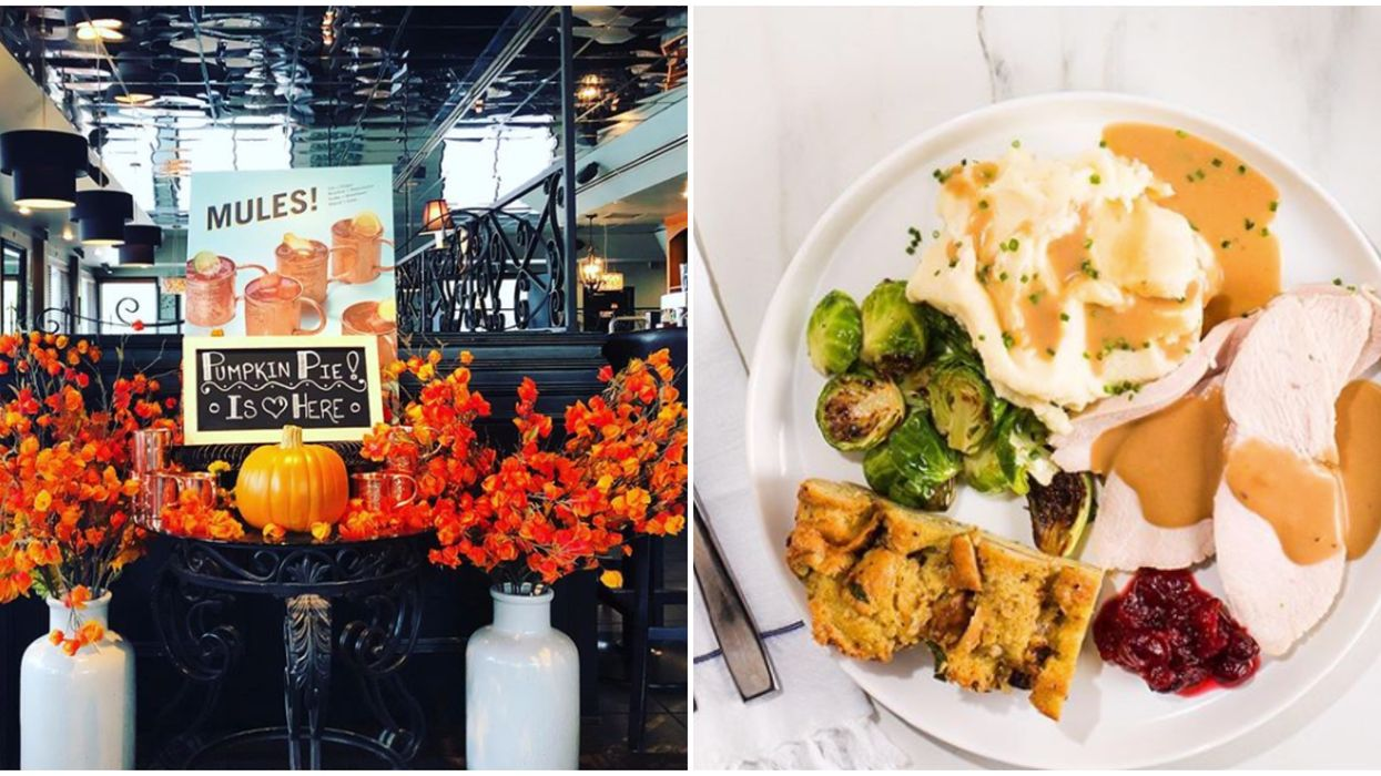 6 Toronto Restaurants Where You Can Eat A Massive Thanksgiving Feast For $25 (Or Less)