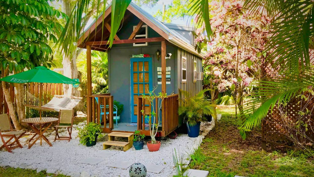 Affordable Rentals In Florida Include Glamping Tiny House For 2 in Sarasota