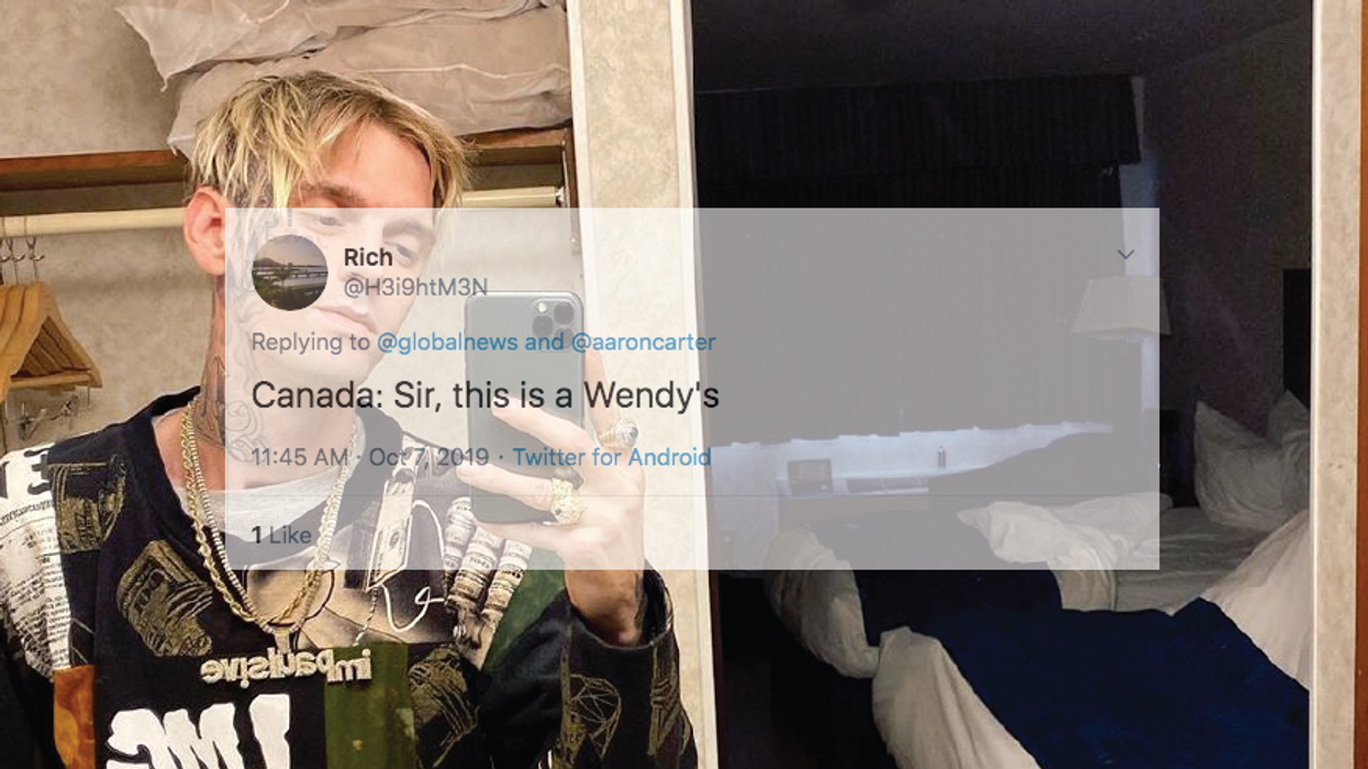 Canadians Have So Many Thoughts About Aaron Carter's Surprise Move To Nova Scotia