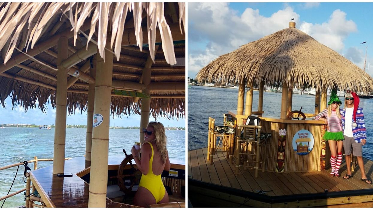 This Floating Tiki Bar In Key West Is The Coolest Way To Get Tipsy With Your BFFs