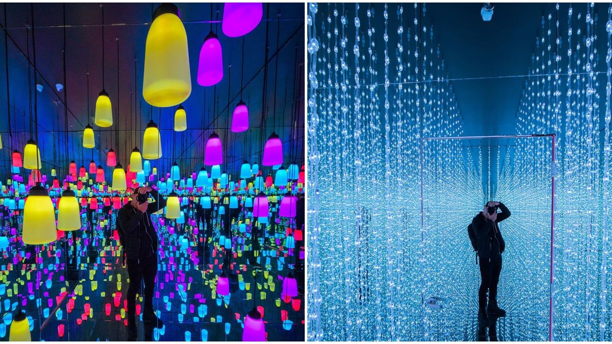 Vancouver's First Ever Mirrored Light Exhibit Opens Tomorrow