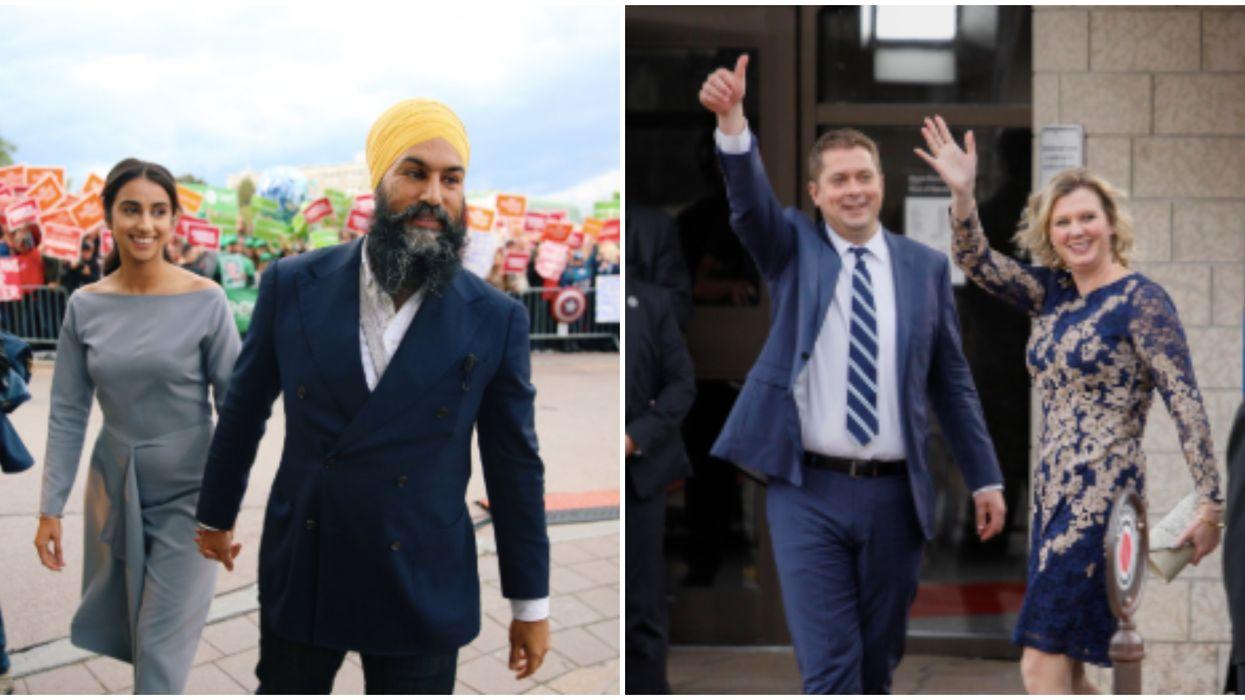 "Leader's Debate Moderators Kept Calling Singh ""Mr. Scheer"""