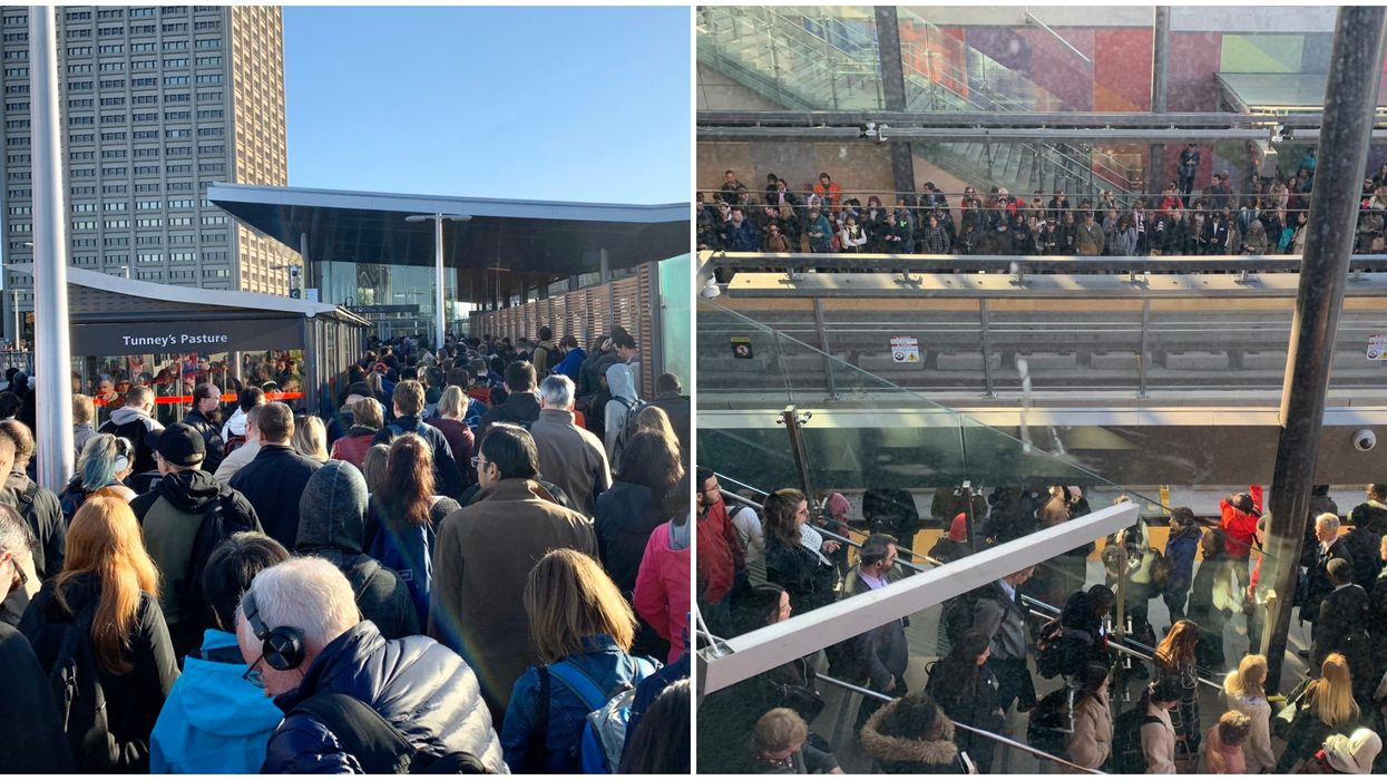"""Ottawans Are Already Calling Their Overcrowded New Train System A """"Nightmare"""" (PHOTOS)"""