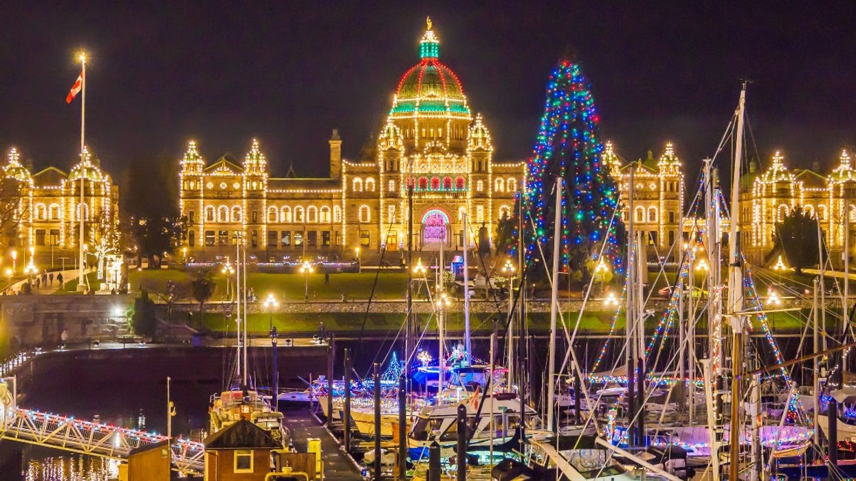 New Enchanting Holiday Light Festival Will Light Up Downtown Victoria This Year