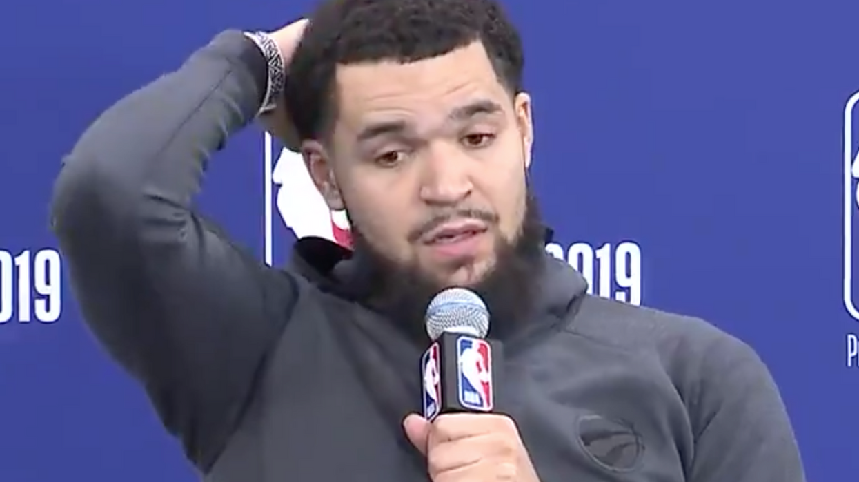 VanVleet Had The Best Comeback For A Reporter Who Called Him Out For His Height