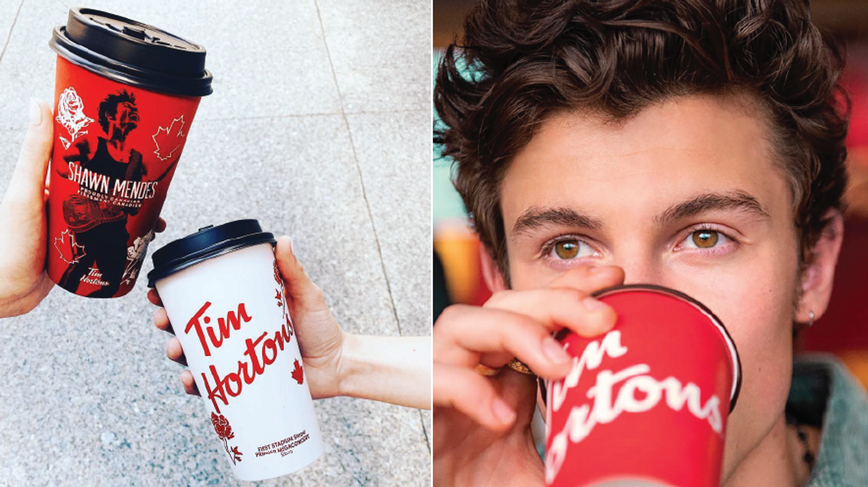 Shawn Mendes Tim Hortons Cups