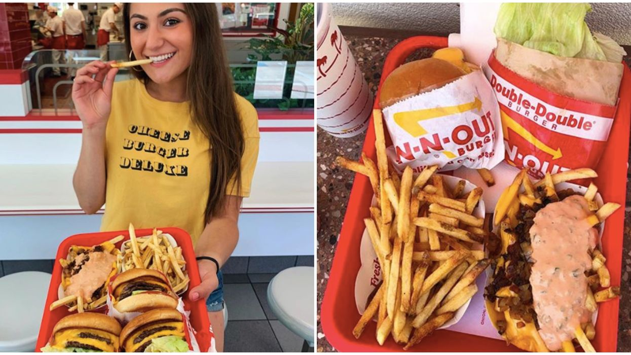 In-N-Out Houston's Secret Menu Items That You Need To Try Next Month
