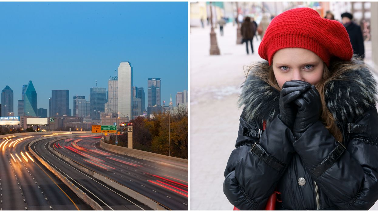 Dallas Weather Has Dropping Temperatures And Texans Are Going Crazy