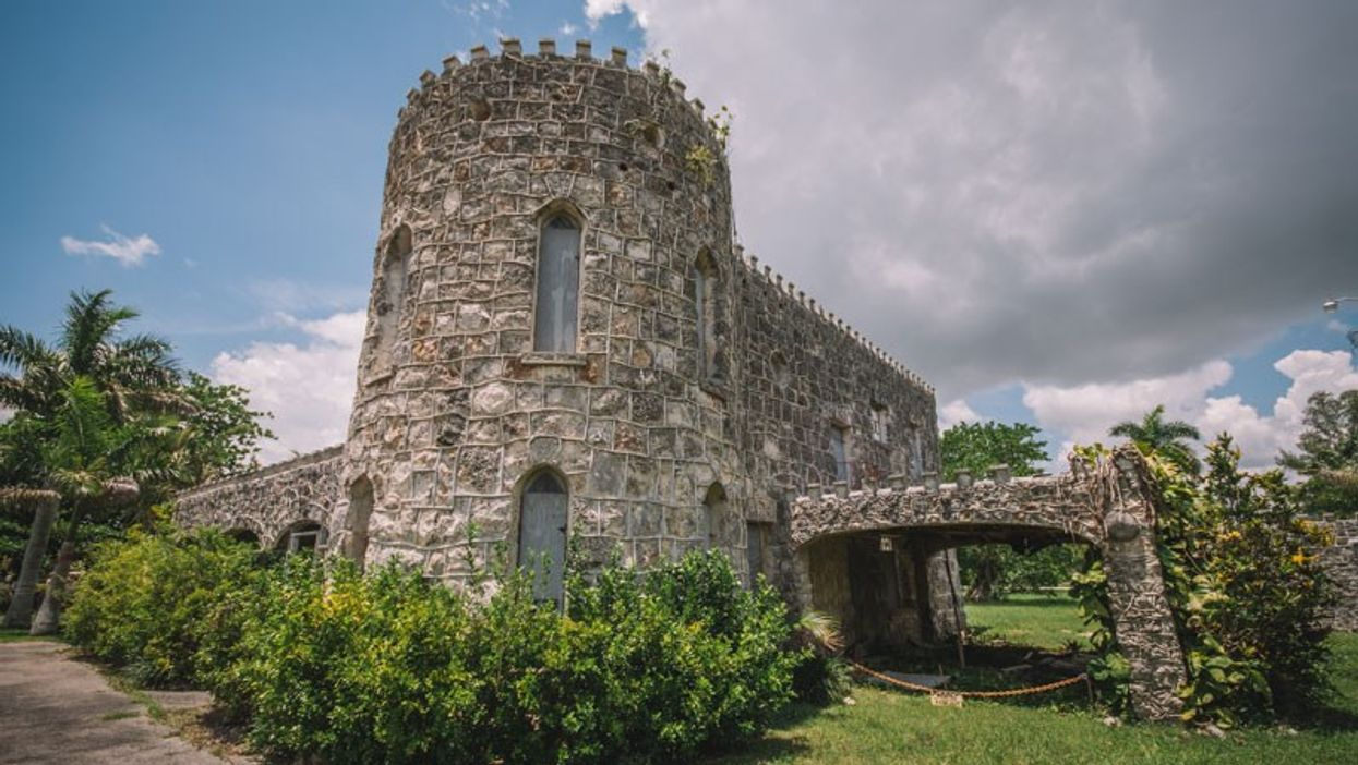 Castles In America Include This Medieval-Looking Coral Castle In Florida