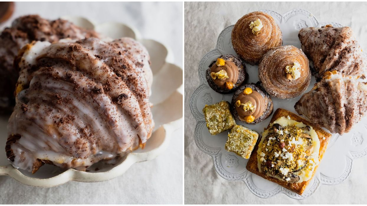 You Can Get Cookies N' Cream Croissants At This Famous BC Bakery