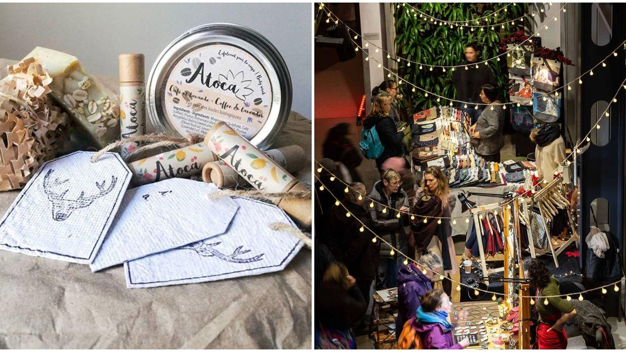 Un merveilleux marché de Noël « écolo » débarque à Montréal et voici quand