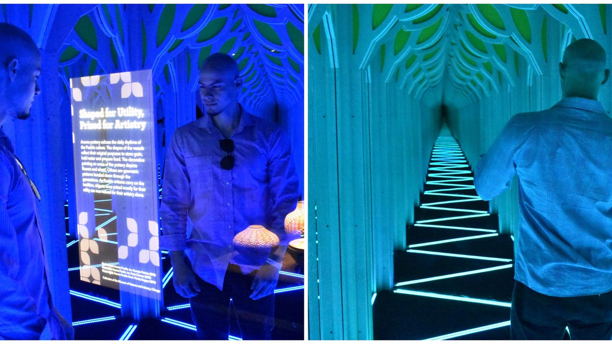 things to do in miami this weekend include this mirror maze