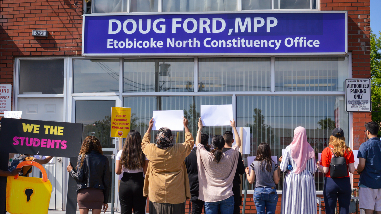 Students Are Taking Doug Ford To Court Today To Fight His Campus Program Cuts