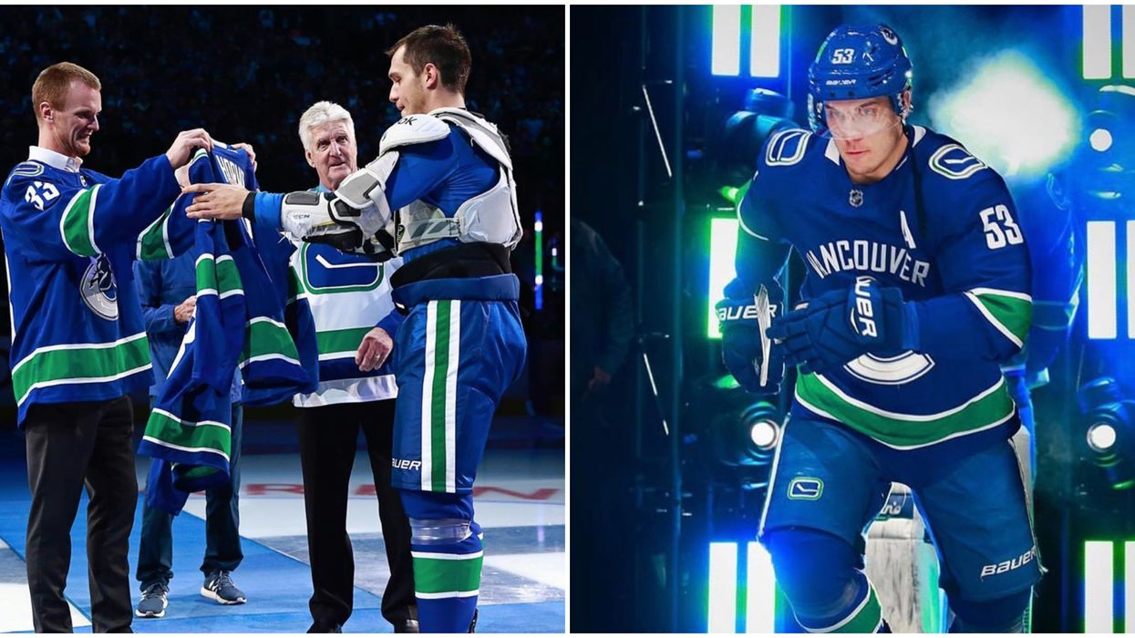 Vancouver Bo Horvat Fans Are Loving That He's The New Canucks Captain