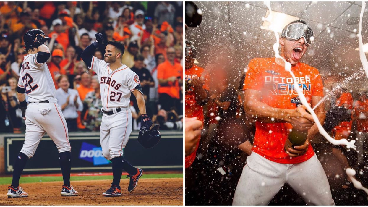 Houston Astros' ALDS Win Last Night Called For A Unique Celebration