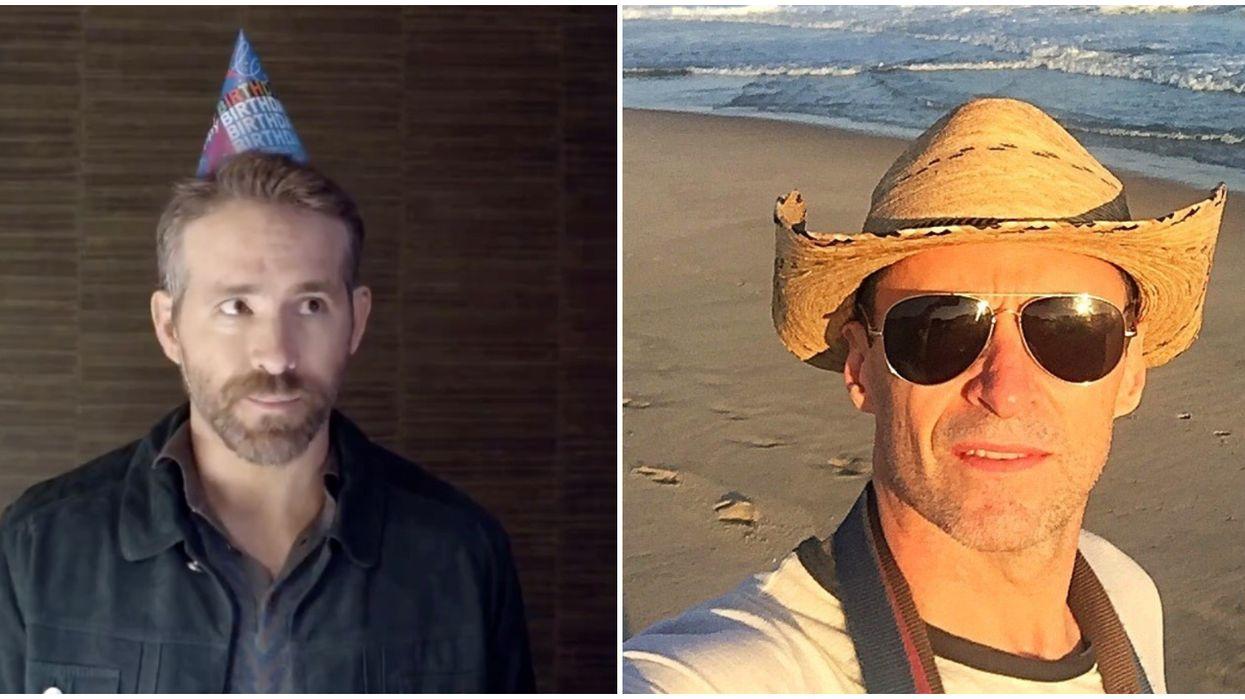 Ryan Reynolds & Hugh Jackman Continue Friendly Feud With A Birthday Song