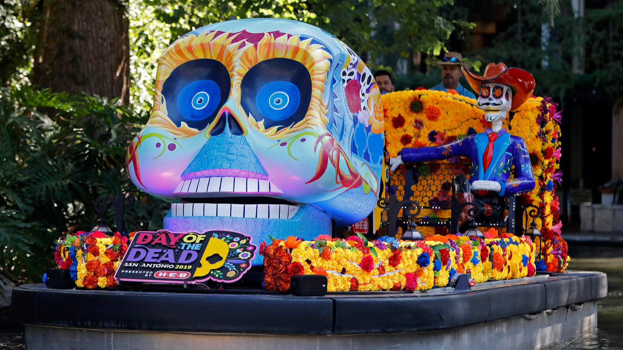 San Antonio's Catrinas On The River Parade Will Be It's First
