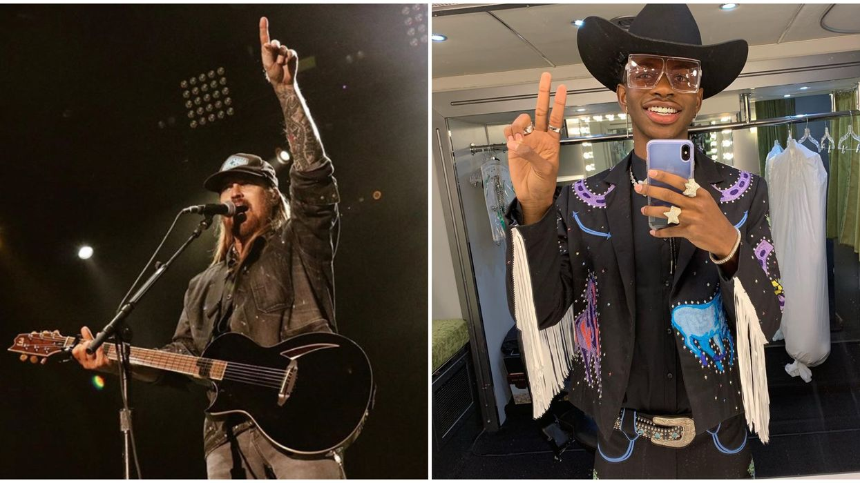 Billy Ray Cyrus Performed Without Lil Nas X In Dallas This Weekend