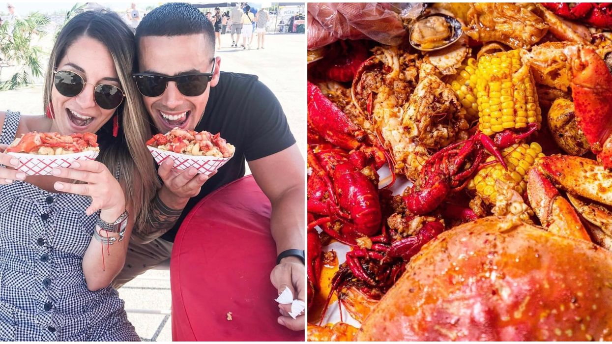Things To Do In Atlanta In November Have To Include This Boozy Unlimited Seafood Fest