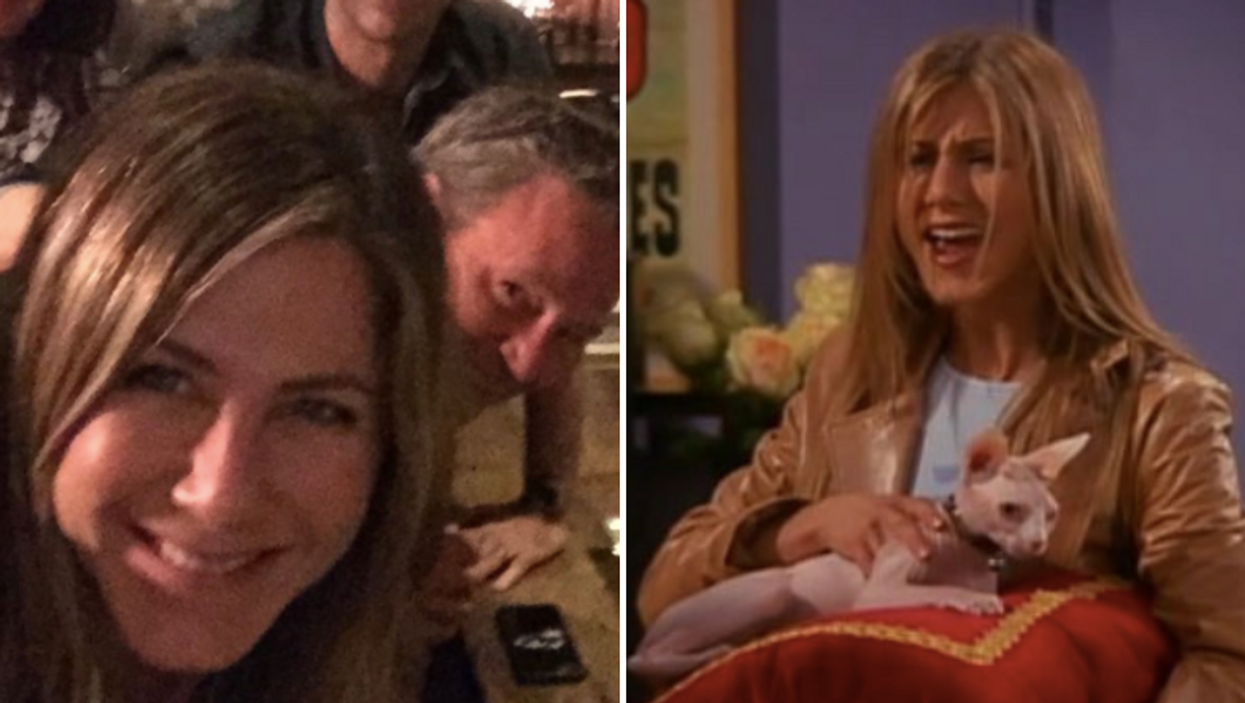 Jenifer Aniston's First Instagram Post Is A New Photo Of The Entire Friends Cast