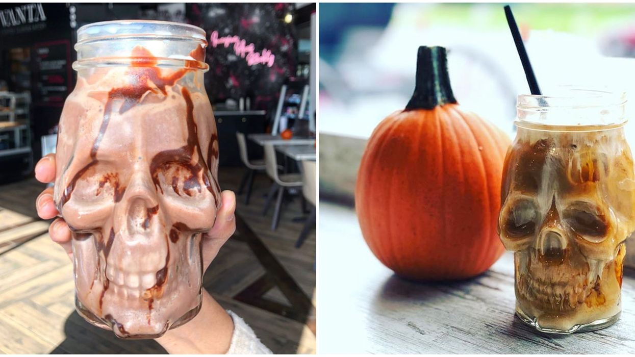 Vanta Coffee Club's Death Mugs Are Perfect For Drinking Coffee In October