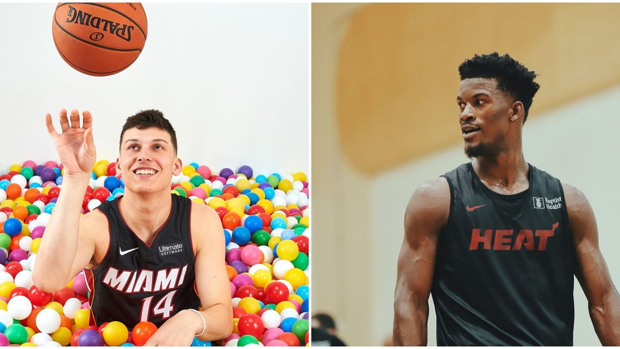 After A Video Surfaced, It's Clear These Two Miami Heat Players Need To Have A Dance Off