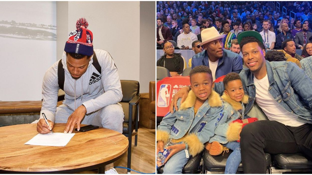 Kyle Lowry Contract Announcement Extends Star's Love Affair With Toronto