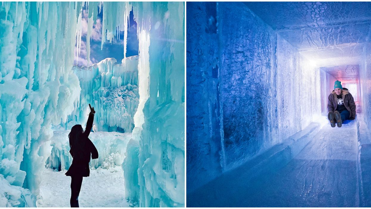 Edmonton Ice Castles 2020 Is Back This Winter & You Can Live Your Very Own Fairytale
