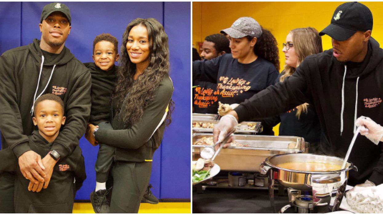 Kyle Lowry And His Family Gave Back In The Most Heartwarming Way This Thanksgiving
