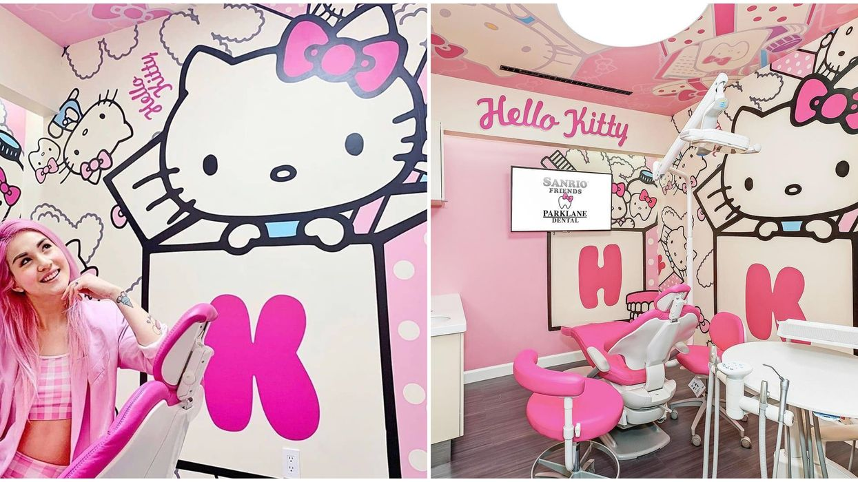 Helly Kitty Dentist Office Opened In California Temple City