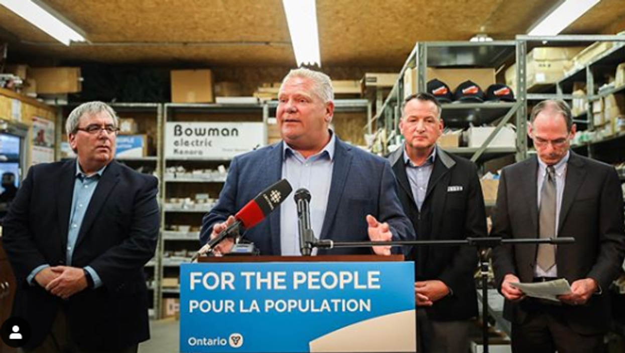 Doug Ford's Federal Election Comments State That  Justin Trudeau Loves Him