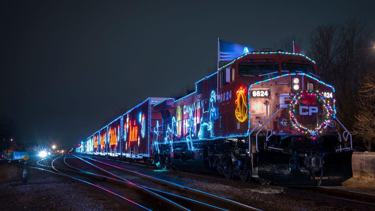 Le Train des Fêtes du Canadian Pacific débarque à Montréal et voici l'itinéraire